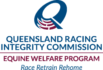 Queensland Racing Integrity Commission Equine Welfare Program logo