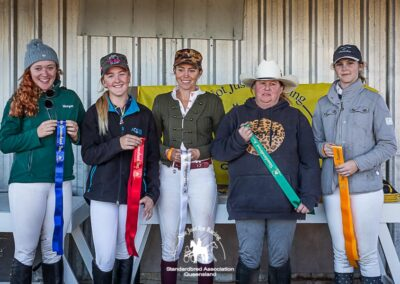 2021 SAQ Show Jumping Gala Intermediate Fault and Out 70cm - Open results