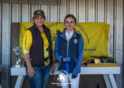 2021 SAQ Showjumping Gala Advanced Fault and Out 90cm - Standardbreds only results